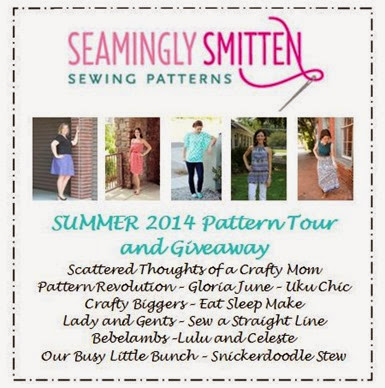 Seamingly Smitten pattern tour July 2014