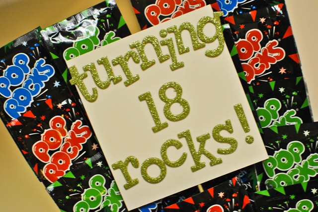 turning 18 rocks pop rocks birthday gift 2
