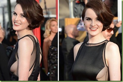 Michelle Dockery attends the 19th Annual Screen Actors Guild Awards at The Shrine Auditorium