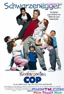 Cảnh Sát Giữ Trẻ 1990 - Kindergarten Cop