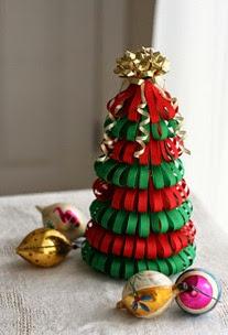 Árvore-de-Natal-de-Papel