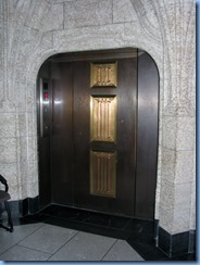 6130 Ottawa - Parliament Buildings Centre Block - Peace Tower and Memorial Chamber tour - elevator to top 9th floor