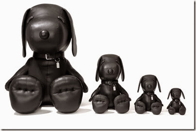 Peanuts X Coach black Snoopy toys