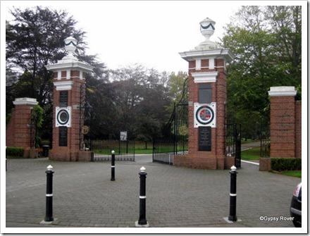 Queens Park entranceway, Invercargill.
