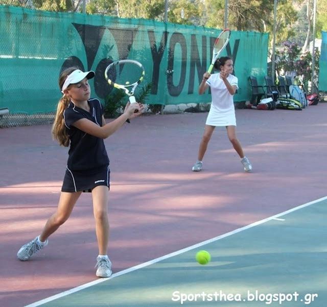 Φωτορεπορτάζ του Sportsthea από το Πανελλήνιο Πρωτάθλημα Τένις 10-12 ετών