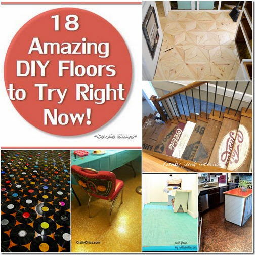 18 Amazing DIY Floors to Try Right Now