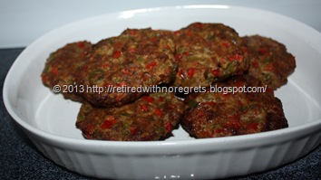 Revved Up Italian Sausage Burgers - dished