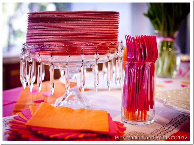 Cake Stand Used To Hold Plates
