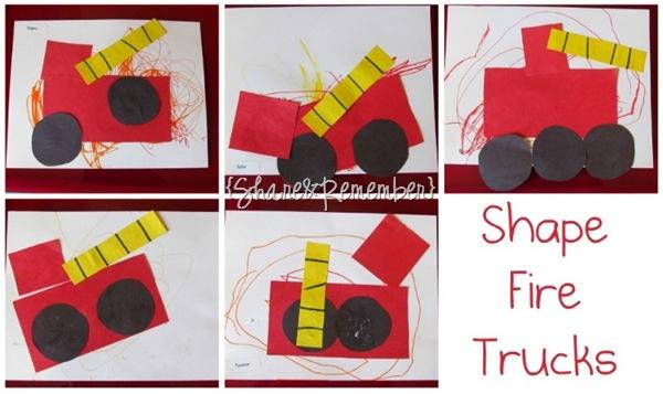 Shape Fire Truck