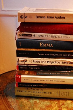 Jane Austen libros