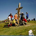 Kreuzaufstellen Hochalmspitz 2001