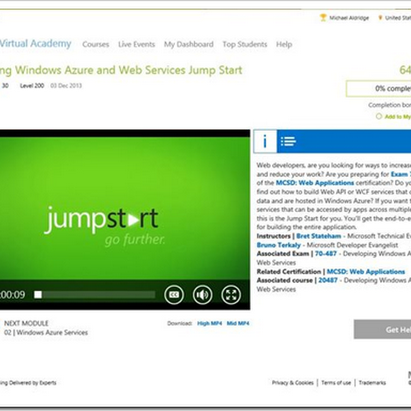 Look, Microsoft Virtual Academy has a new look!