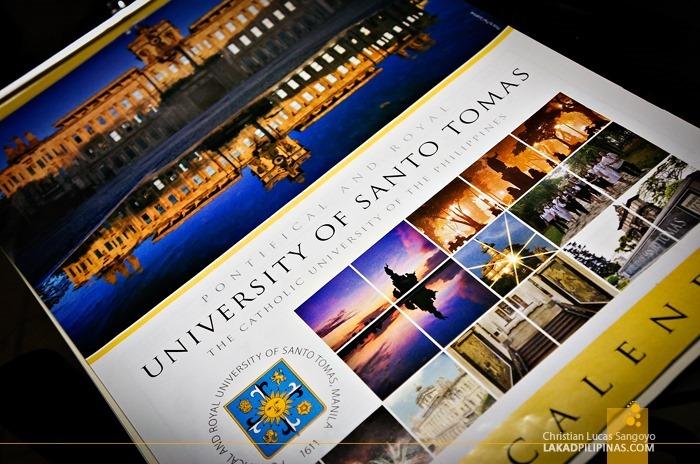 University of Santo Tomas 2013 Calendar
