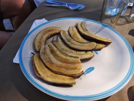 Ile aux Cerfs, insula cerbilor din Mauritius: Banane prajite