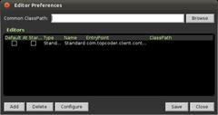 Screenshot-Editor Preferences