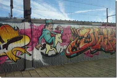 Antwerpen-Berchem駅のホーム