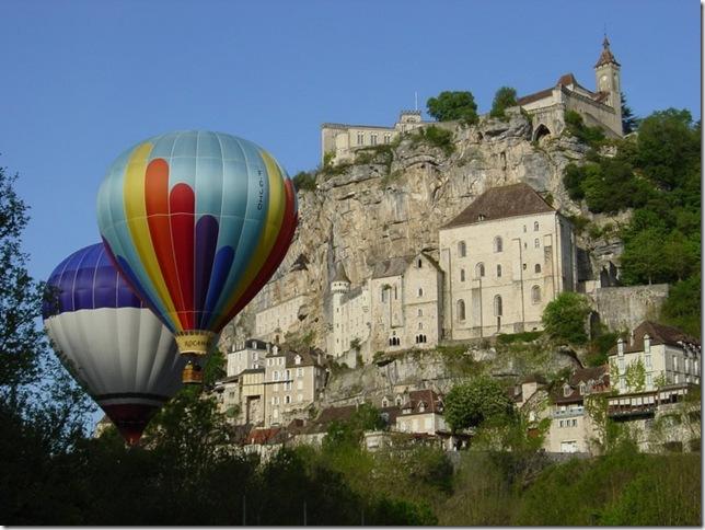 rocamadour balloons