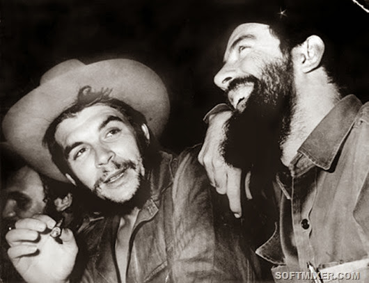 El Che y Camilo Cienfuegos