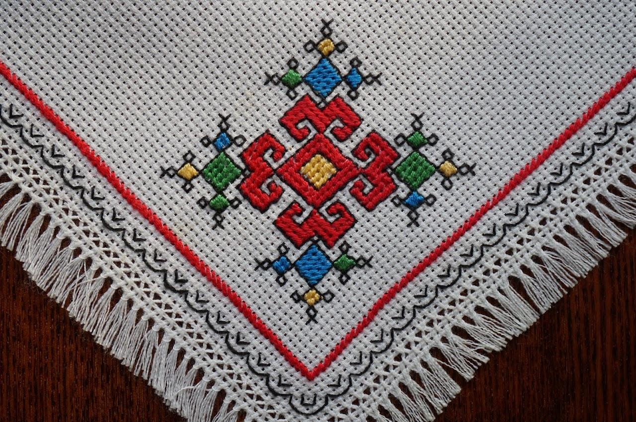 Вышивка крестом чувашская