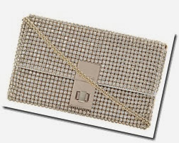 Dune Diamante Evening Bag