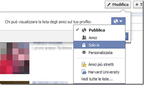 Chi può visualizzare la lista degli amici sul tuo profilo Facebook