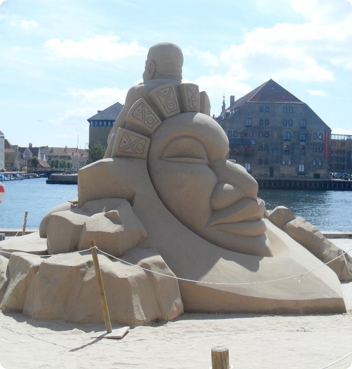 Sandskulpturfestival København 2013