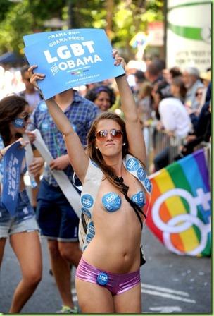 san fran's gay pride parade