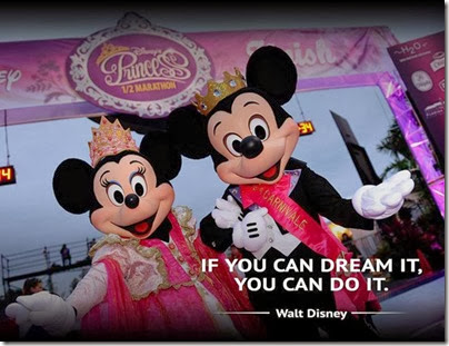 2014 Princess Half Marathon Mickey and Minnie