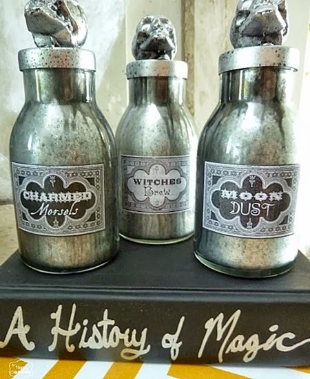 DIY-faux-mercury-glass-potion-Bottles-for-halloween-decorating