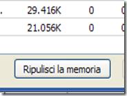 Aggiungere il pulsante Ripulisci la memoria al Task Manager di Chrome