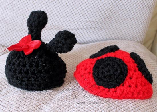 crochet Ladybird set