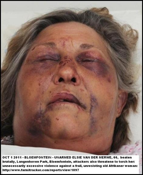 VAN DER MERWE ELSIE OCT1 2011 66 BRUTAL BEATING LANGENHOVEN PARK BLOEM 3 BLACKS