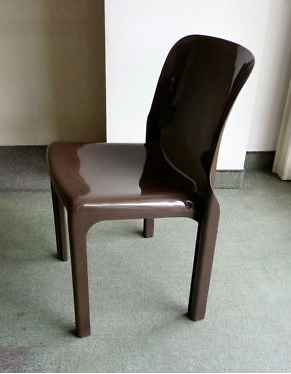 Selene chair, brown