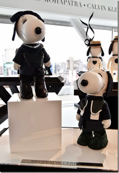 Peanuts X Metlife - Snoopy and Belle in Fashion Exhibition Presentation (Source - Slaven Vlasic - Getty Images North America) 08