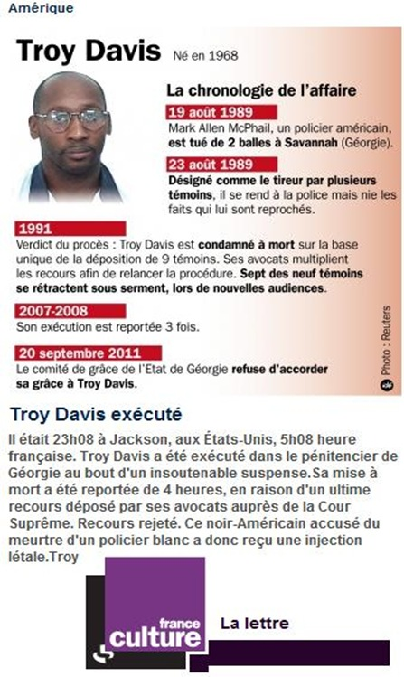 Troy Davis remembèm