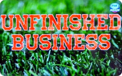 unfinished business sign