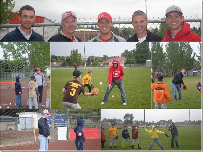 baseball collage