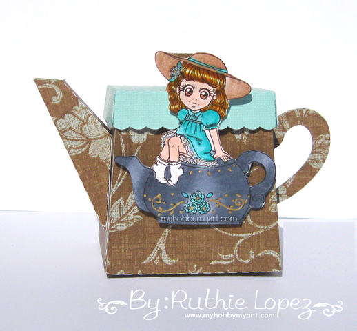Zuri Artsy Craftsy - Mila - Teapot - tetera - Ruthie Lopez 2