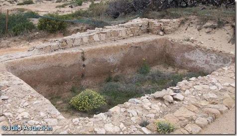 El Moncayo - Cisterna romana