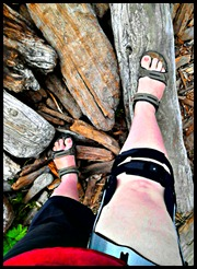 "Ironically, this brace didn't protect me from another ""Adventure Injury."" Oh well."