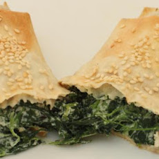 Spinach, Olive Cheese Pastries