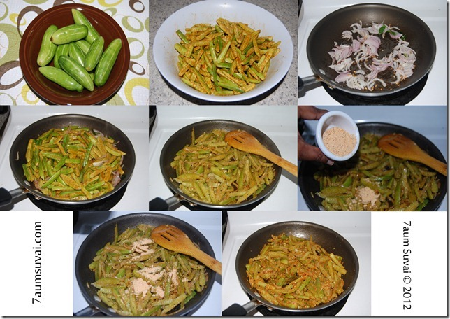 Spicy kovakkai process