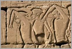 Prisioneiros Filisteus Egípcios