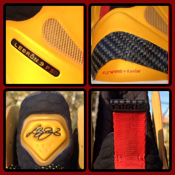 Nike LeBron 9 PS Elite 8220Taxi8221 8211 Sample vs GR