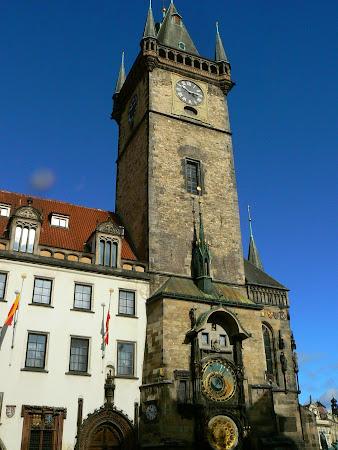 Obiective turistice Praga: Turnul Primariei Vechi