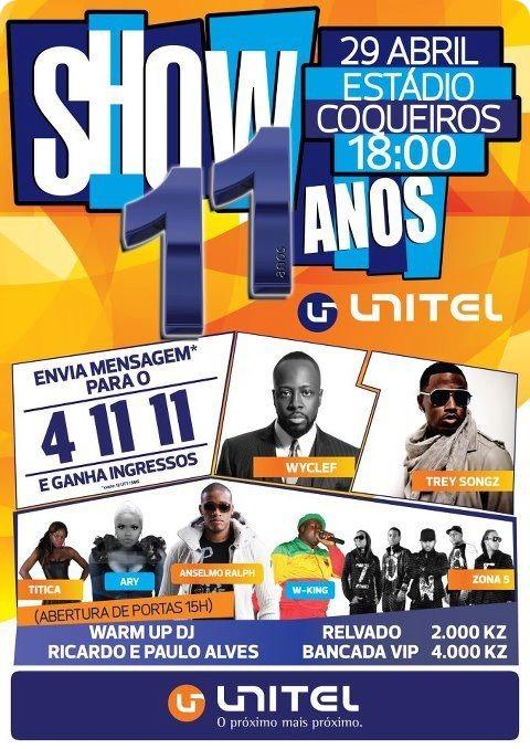 Show Unitel 11 Anos