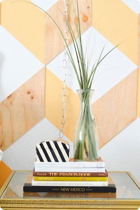Cut Grasses Black and White Box vintagerevivals.com