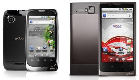 Smartphone Axioo Vigo