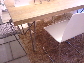 Dylan Dining Table I Made Gabster Go With Me To The Store On Sunset Back Beginning Of November And Took Some Pics Its A Nice Piece Right