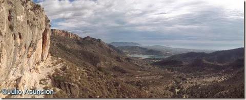 Panorámica desde el Racó de Cortés - Orxeta - Alicante